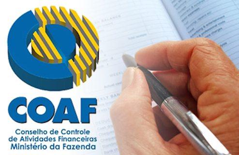 COAF – Alteração do modo de identificar PEP